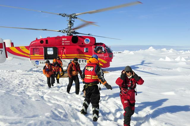 Image result for antarctic rescue helicopter pictures