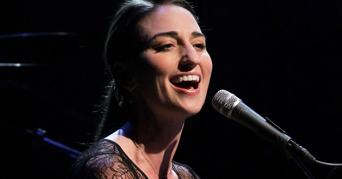Sara Bareilles: The sweet author of tough songs - CBS News
