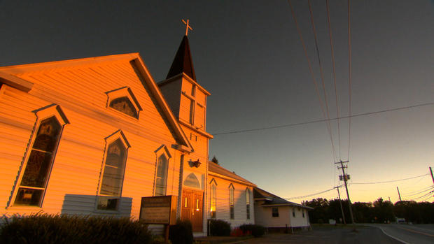 On Oct. 29, 2008, the secretary at the Reeder's United Church in Reeders,  Pa., arrived for work made found a shocking discovery