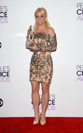 People's Choice Awards 2014 press room