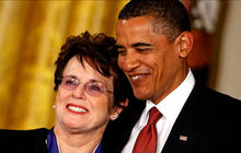 Billie Jean King on civil rights and Sochi