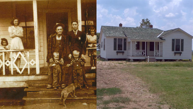 Cash Family at Dyess Home_house after restoration.jpg