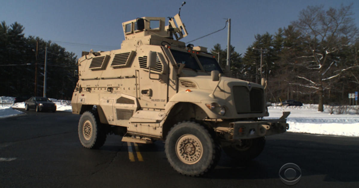 Not your typical police car: Military vehicles put to new ...