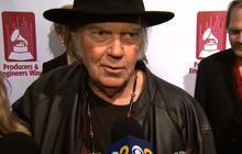 Neil Young receives special Grammy honor