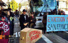 San Francisco protesters upset over tech transit