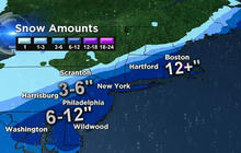 Arctic blast: Heavy snow moves out, replaced by brutal cold