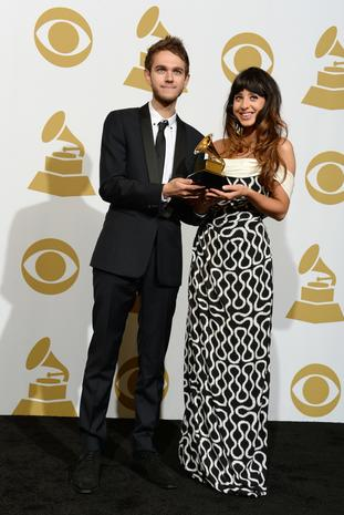 Grammys 2014 press room
