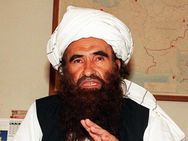 Maulvi Jalaluddin Haqqani, the founder and leader of the Haqqani network
