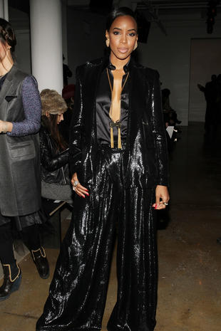 Stars at New York Fashion Week