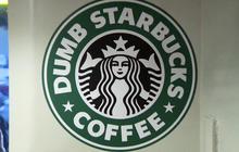 """Dumb Starbucks"" coffee shop opens in Calif."