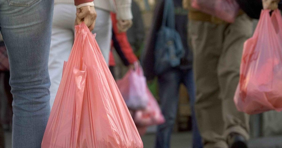 Should plastic shopping bags be banned? - CBS News Hurricane Sally Tracker 2020