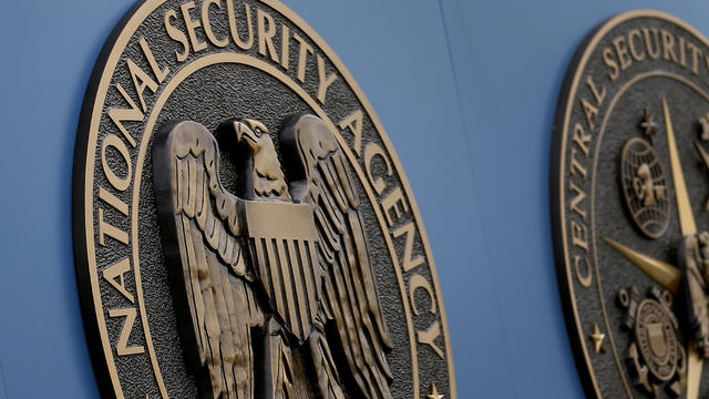 This June 6, 2013 file photo shows a sign outside the National Security Administration (NSA) campus in Fort Meade, Md