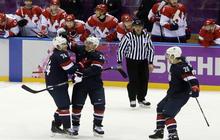 Team USA beats Russia in hockey
