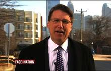 N.C. Gov. McCrory discusses winter storms, climate change