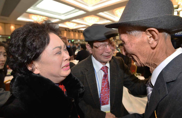 Tearful reunions in North Korea