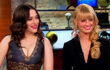 """""""2 Broke Girls"""" stars on hit show and their real lives"""