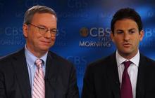"""Google's Eric Schmidt and Jared Cohen on how to check-up on your """"digital health"""""""