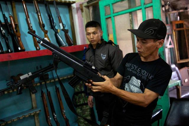Cipacing, Indonesia - Indonesia's air gun village - Pictures