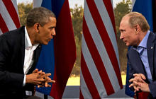 Obama and Putin talk about finding diplomatic solution to Ukraine crisis