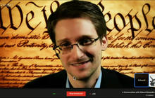 Snowden: Constitution being violated on massive scale