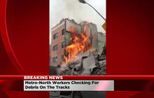 Cell phone footage captures aftermath of New York City explosion
