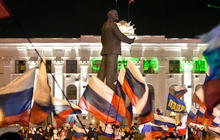 Splitting from Ukraine: 97 percent of Crimeans vote to join Russia