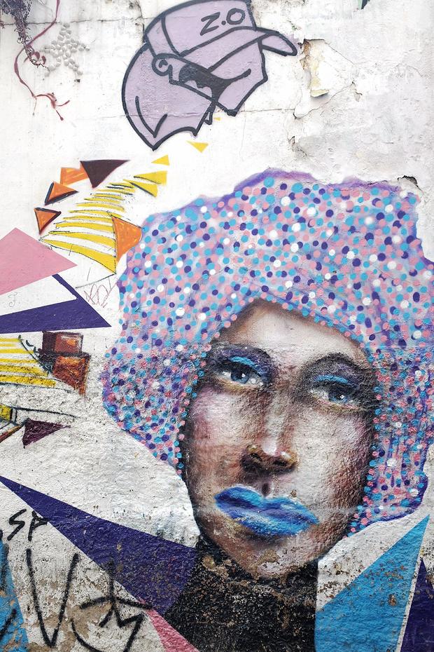 Brazil graffiti art