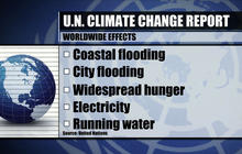 UN report: Sweeping effects on continents and oceans from global warming