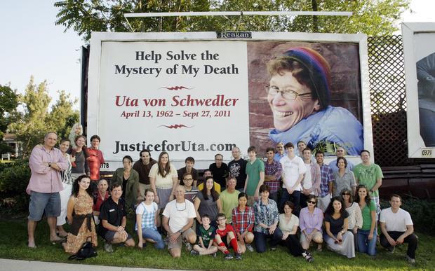 Evidence photos: Investigating the death of Uta von Schwedler