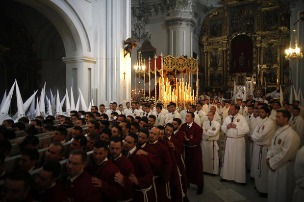 Spaniards celebrate Holy Week