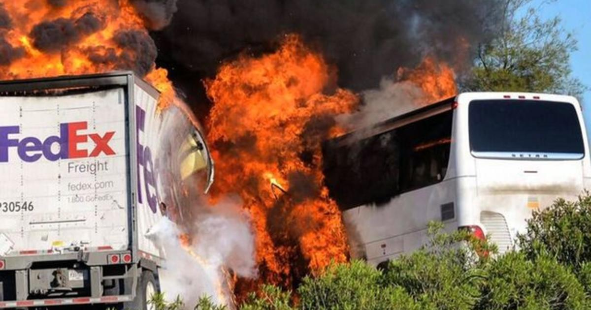FedEx driver's last hours before deadly Calif  crash