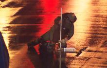 Watch: Bomb squad detonates bag near Boston Marathon finish line