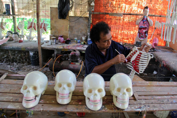Indonesia's medical mannequin industry