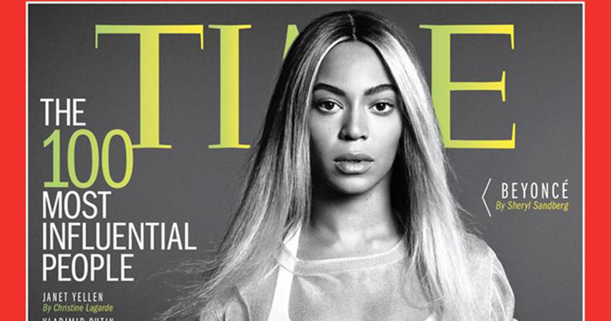 beyonce covers times quot100 most influential peoplequot issue