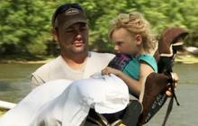Tornado survivor reunion: Watch 4-year-old girl and rescuer meet after storm