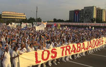 Millions of Cubans celebrate May Day
