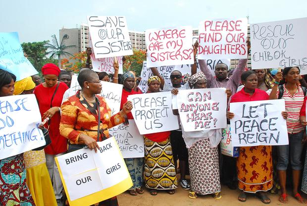Nigerians express outrage over missing girls