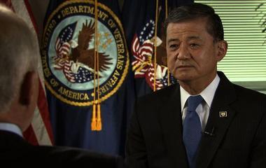 Shinseki discusses bonuses given to officials at troubled VA hospitals