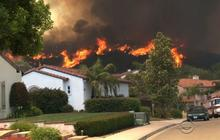 Wildfires burning out of control in Southern California