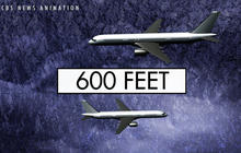 Airliner makes sudden plunge to avoid disaster