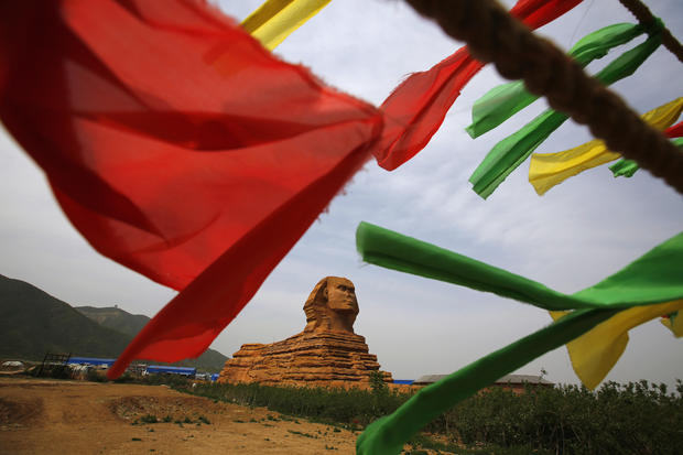 Chinese create replica of the great sphinx of Giza