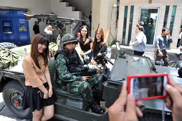 Thai army declares martial law