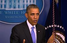 """I will not tolerate it"": Obama addresses VA scandal"