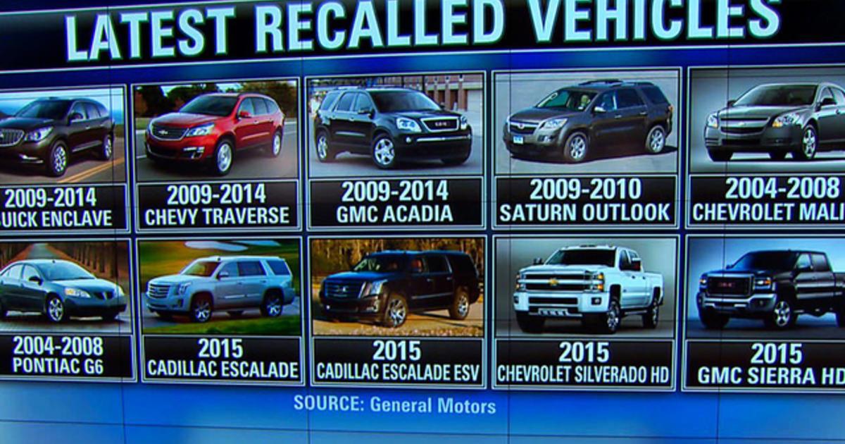 saturn 2008 outlook recalls