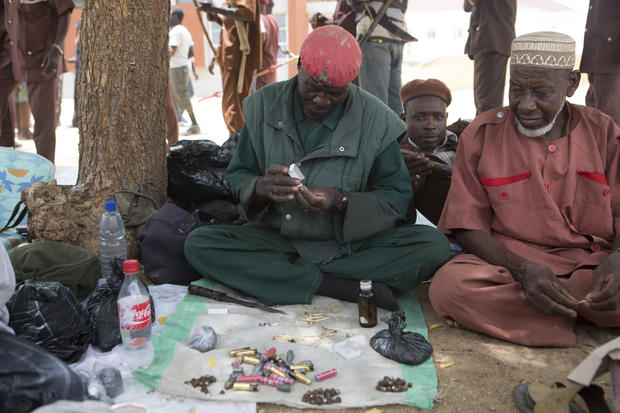 Traditional hunters volunteer to hunt Boko Haram