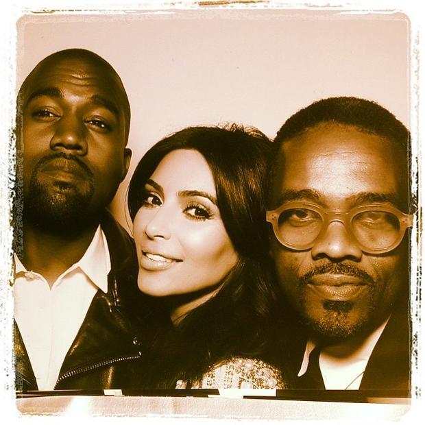 Kanye West and Kim Kardashian wedding