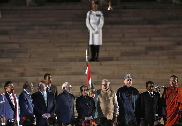 Indian Prime Minister-designate Narendra Modi inauguration