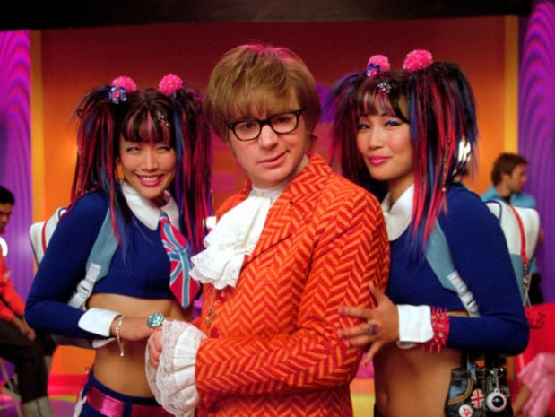 4abad890 Groovy, Baby! - Yeah, baby! Mike Myers - Pictures - CBS News