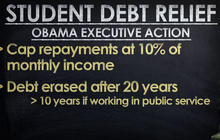 Student loan help: President Obama to issue executive order
