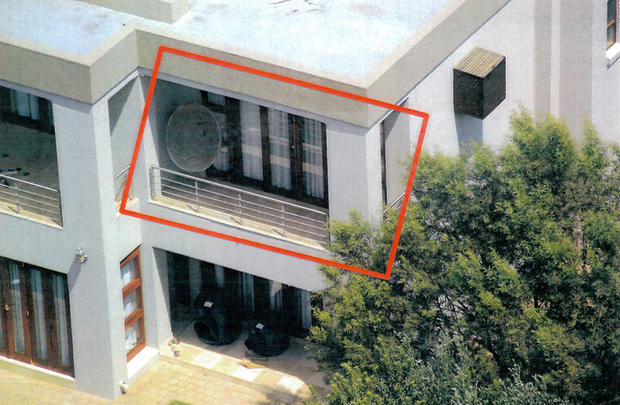 Oscar Pistorius Home Evidence Photos Inside Oscar